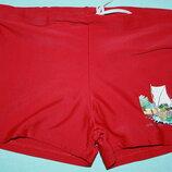 Яркие классные плавки-шортики для мальчика р-128/134 в отличном состоянии