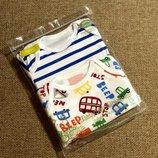 Красивый набор бодиков короткий рукав от Baby Safe из Англии
