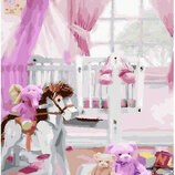 Картина По Номерам. BRUSHME КОМНАТКА Принцессы GX25497