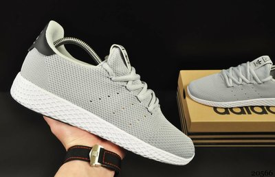 Кроссовки сетка Adidas Pharrell Williams gray