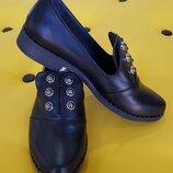 Замечательные туфли из натуральной кожи