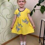 Нарядное платье на девочку летнее