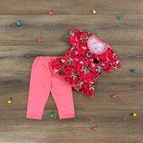 Летний комплект костюм для девочки