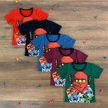 Трикотажная футболка на мальчика NINJAGO футболка мальчику
