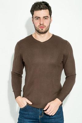 Пуловер мужской, базовый AG-0008877 Ореховый
