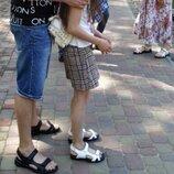 Ecco Супер Женские сандалии в стиле Экко летние из натуральной кожи босоножки белого цвета