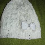 Ажурная шапка на 3-5 лет