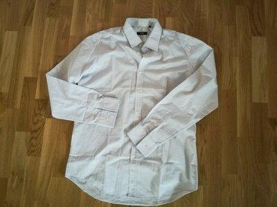 Фирменная рубашка мужская размер XL - XXL Hugo boss