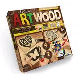 Комплект Креативного Творчества ARTWOOD Подставки Под Чашки 5930 Danko Toys.
