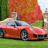 Картина По Номерам. BRUSHME ФЕРРАРИ 458 ITALIA GX23758. Машина. Автомобіль.