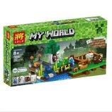 Конструктор Lele 79044 Аналог Lego Minecraft 21114 Ферма 262 детали