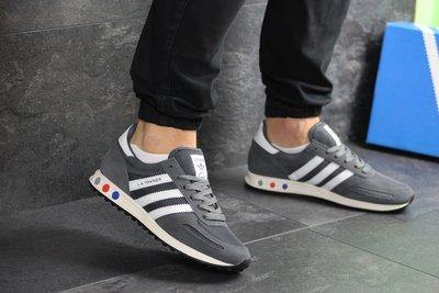 Кроссовки мужские Adidas La Trainer gray