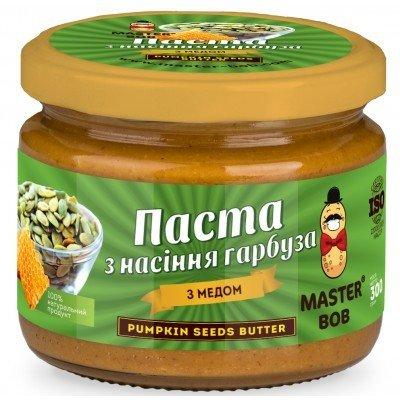 Паста из семечек тыквы с медом