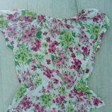 Стильная фирменная хлопковая блузка Gloria Jeans