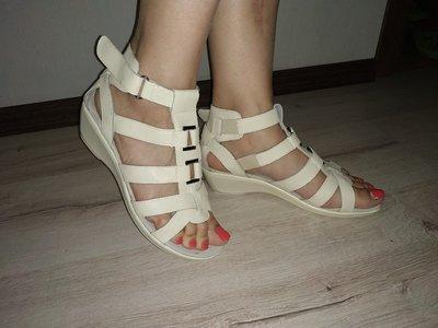 Женские босоножки из натуральной кожи женские сандалии можно на широкую ногу Р. 36-41