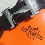 Ремень кожаный в стиле Hermes, Гермес