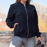 Женская замшевая куртка ветровка скл.1 арт.53821
