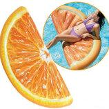 Матрас надувной Intex Долька апельсина