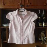 Next 14 р.фирменная блузка деловой стиль