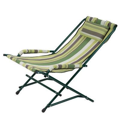 Кресло качалка Vitan VT2110008 Зеленая полоска
