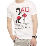 Мужская футболка белая Lc Waikiki / Лс Вайкики Muhammad Ali