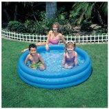 Бассейн 59416 Круг. Дитячий надувний басейн Intex. Бассейн детский надувной.