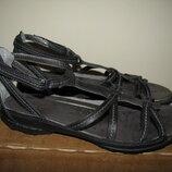 Босоніжки сандалі шкіряні брендові ECCO Оригінал Німеччина р.38 стелька 25 см
