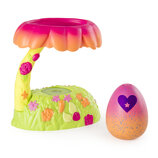 Hatchimals S4 гнездо с садом и фигуркой 6044119 Colleggtibles Glittering Garden Hatchy Home Light Up