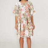 Трендовое летнее платье fvt-2059 Тон 34
