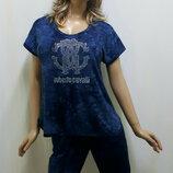 Костюм женский футболка бриджи