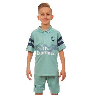 Форма футбольная детская Arsenal 7291 размер 110-155см