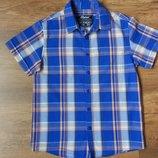Новая рубашка короткий рукав Rebel на 7-8 лет рост 122-128 см