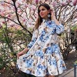 Красивое платье «С 81» две расцветки