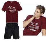 Летний комплект или мужская пижама домашний костюм Livergy Германия, футболка шорты