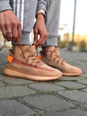 Женские кроссовки Adidas Yeezy Boost 350 V2 Clay люкс качество 1824