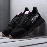 Как оригинал. Кроссовки Adidas ZX 500 RM черные KS 1049