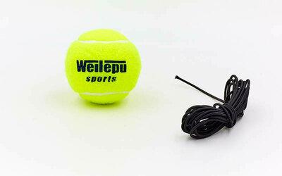 Теннисный мяч на резинке боксерский Fight Ball Wielepu 626 пневмотренажер