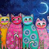 Картина По Номерам. BRUSHME ДИВНЫЕ Коты GX21706