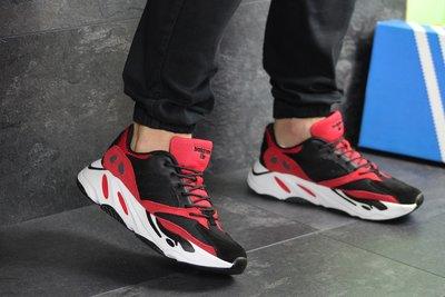 Кроссовки мужские Adidas balance life black/red