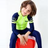 Солнцезащитный купальный костюм плавки для мальчика р.128