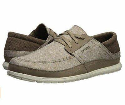 туфли макасины Crocs M7 ,12
