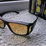 Окуляри антиблискові нічні HD Vision очки антибликовые ночные