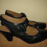 Туфлі босоніжки брендові шкіряні Clarks Active Air Оригінал Англія р.7 стелька 25,4 см