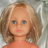 роскошная винтажная кукла Franca Effe Италия оригинал клеймо 35 см