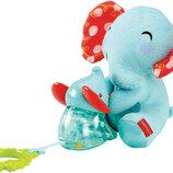 шикарная развивающая игрушка для самых маленьких дрожащие Слоники Fisher Price Сша оригинал