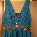 Нарядное платье Ампир на красивые формы, вечернее