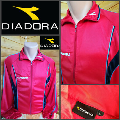 Спортивная олимпийка итальянской марки Diadora, оригинал, р.L