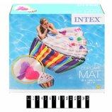 Надувной матрас Intex Кекс 58770 Cupcake, Капкейк Интекс