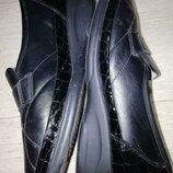 Туфли кожаные waldlaufer 38 размер стелька 25см