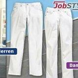 Білосніжні штани Job Style Німеччина М та L наш 46-48 та 50-52 розмір